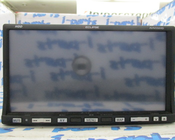 Eclipse - Used! HDD navigation system (AVN550HD)