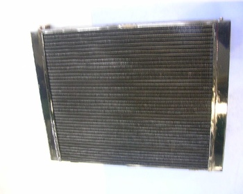 Unknown - Manufacturer unknown - Copper 3-layer side-flow radiator