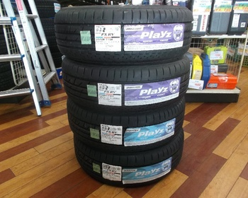 Bridgestone - 4 unused tires Playz (215/60R17)